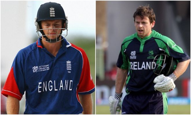 Ed Joyce played for two countries in the Cricket world Cup England and Ireland