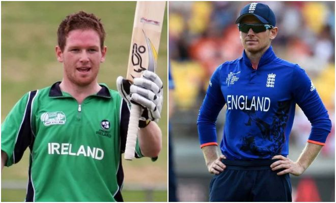 Eoin Morgan played for two countries in the Cricket world Cup Ireland and England