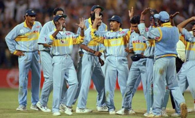 India 1996 World Cup Jersey