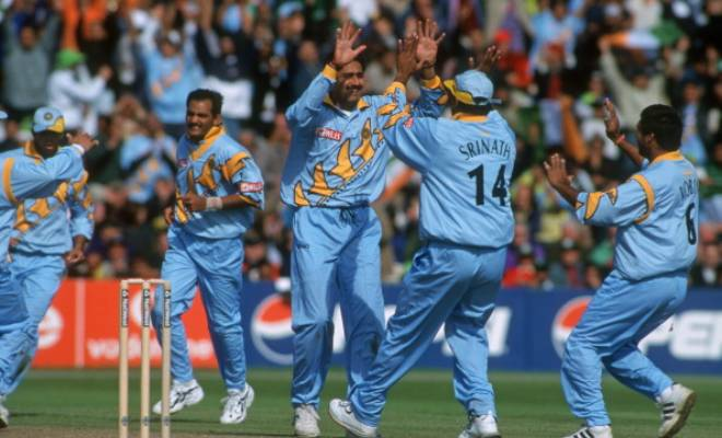 India 1999 World Cup Jersey