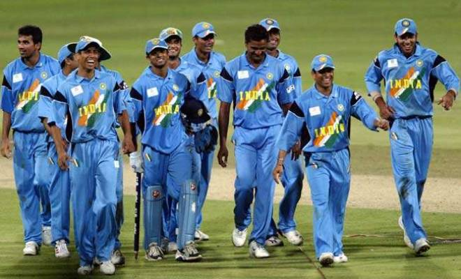 India 2003 World Cup Jersey