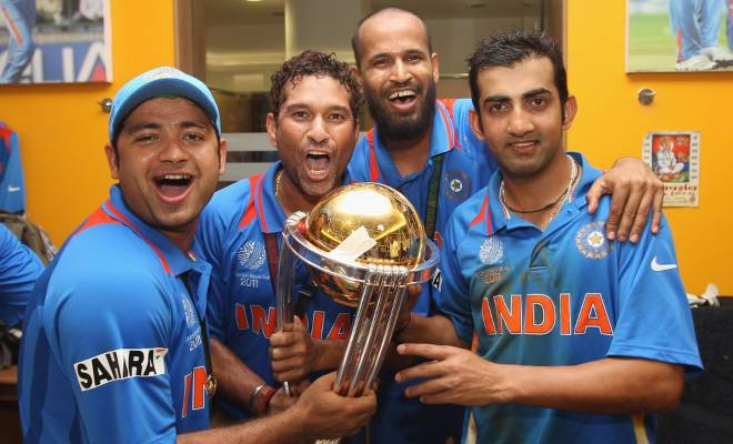 India 2011 World Cup Jersey