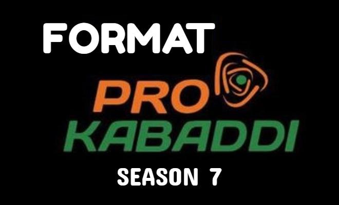 Pro Kabaddi League Season 7 Format