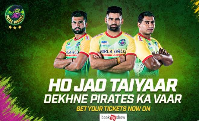 Patna Pirates Pro Kabaddi 2019 Ticket Booking