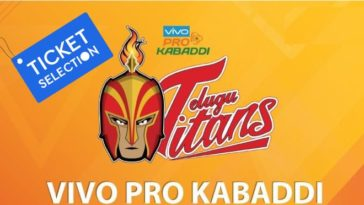 Telugu Titans Hyderabad Pro Kabaddi Ticket Booking