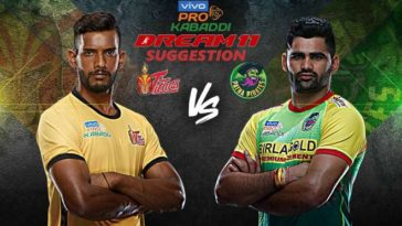 Telugu Titans vs Patna Pirates Dream11 Team Match 11 Pro Kabaddi 2019