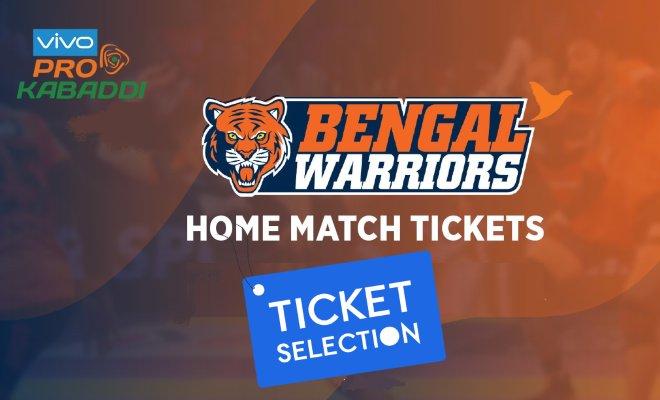 Bengal Warriors Kolkata Pro Kabaddi Ticket Booking