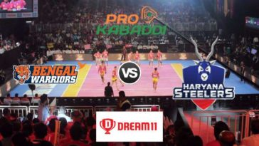 Bengal Warriors vs Haryana Steelers Dream11 Team Prediction Match 60 Pro Kabaddi 2019