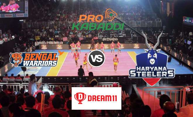 Bengal Warriors vs Haryana Steelers Dream11 Team Prediction Match 60 Pro Kabaddi 2019