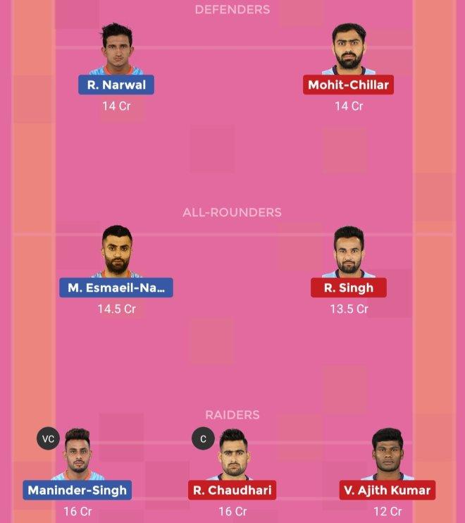 Bengal Warriors vs Tamil Thalaivas Dream11 Team Prediction Match 64 Pro Kabaddi 2019