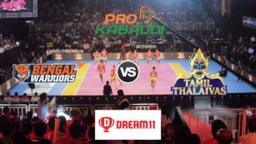 Bengal Warriors vs Tamil Thalaivas Dream11 Team Prediction Match 64 Pro Kabaddi 2019