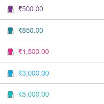Bengaluru Bulls Pro Kabaddi League 2019 Ticket Price List