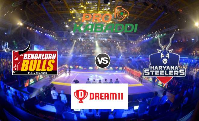 Bengaluru Bulls vs Haryana Steelers Dream11 Team Match 36 Pro Kabaddi 2019