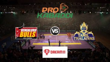 Bengaluru Bulls vs Tamil Thalaivas Dream11 Team Prediction Match 70 Pro Kabaddi 2019