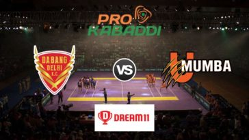 Dabang Delhi vs U Mumba Dream11 Team Prediction Match 63 Pro Kabaddi 2019