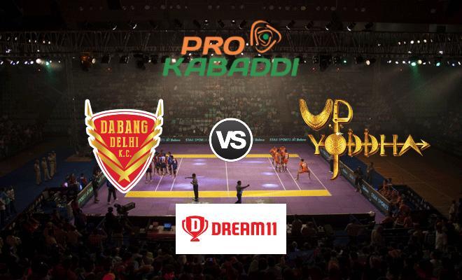 Dabang Delhi vs UP Yoddha Dream11 Team Prediction Match 59 Pro Kabaddi 2019