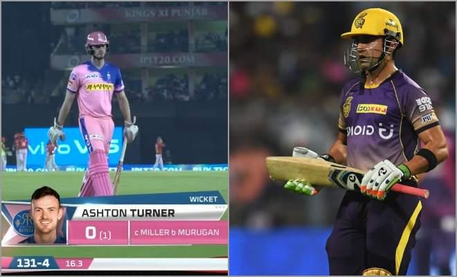 Gautam Gambhir and Ashton Turner Most Consecutive Duck in IPL