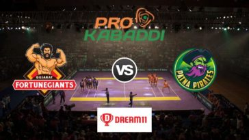 Gujarat Fortunegiants vs Patna Pirates Dream11 Team Prediction Match 54 Pro Kabaddi 2019