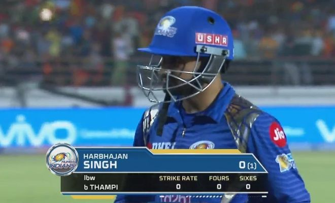 Harbhajan Singh Most Ducks in IPL