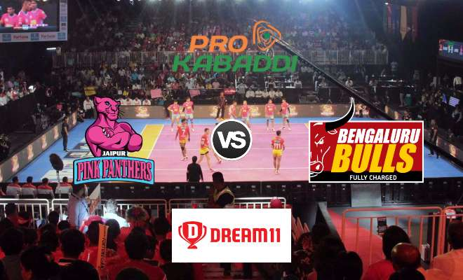 Jaipur Pink Panthers vs Bengaluru Bulls Dream11 Team Prediction Match 58 Pro Kabaddi 2019