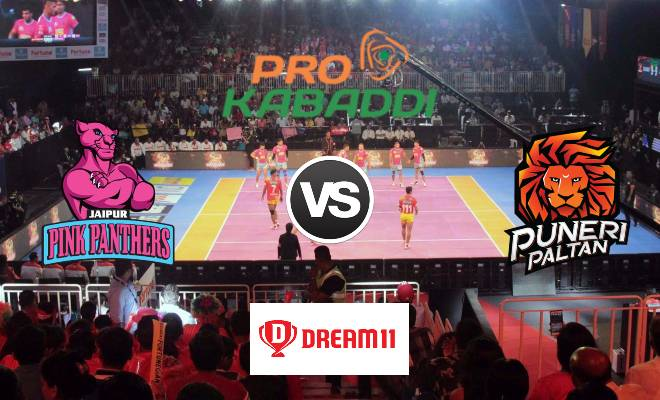 Jaipur Pink Panthers vs Puneri Paltan Dream11 Team Match 42 Pro Kabaddi 2019