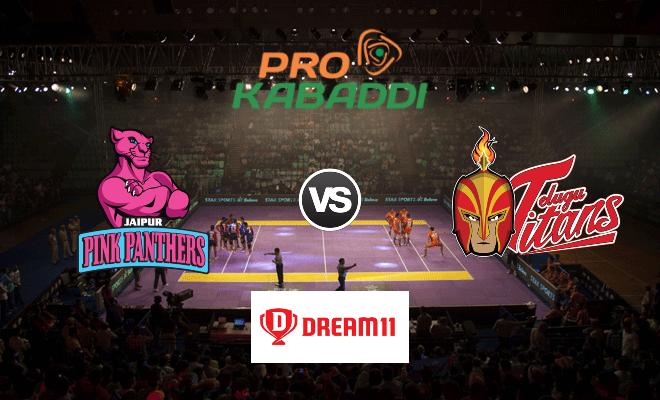 Jaipur Pink Panthers vs Telugu Titans Dream11 Team Prediction Match 57 Pro Kabaddi 2019
