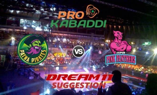 Patna Pirates vs Jaipur Pink Panthers Dream11 Team Match 23 Pro Kabaddi 2019