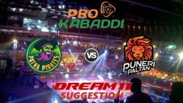 Patna Pirates vs Puneri Paltan Dream11 Team Match 26 Pro Kabaddi 2019