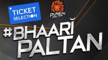 Puneri Paltan Pro Kabaddi Ticket Booking