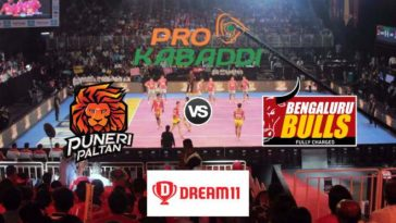 Puneri Paltan vs Bengaluru Bulls Dream11 Team Match 51 Pro Kabaddi 2019