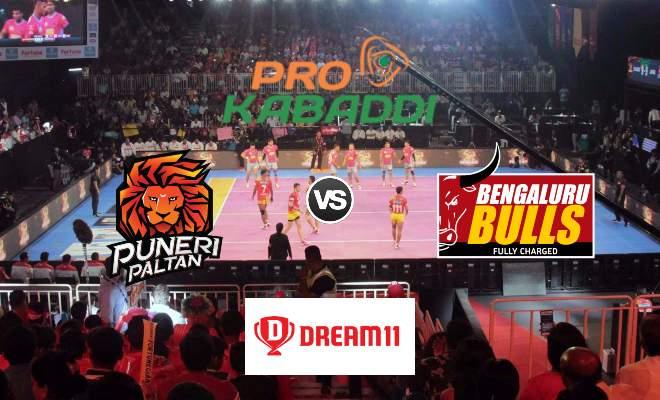Puneri Paltan vs Bengaluru Bulls Dream11 Team Match 51 Pro Kabaddi 2019