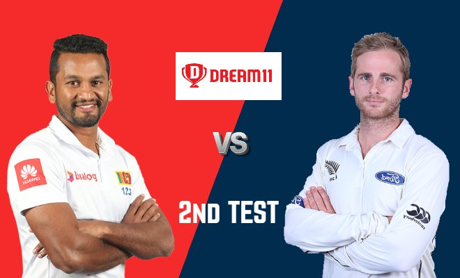 SL vs NZ Dream11 Prediction 2nd Test New Zealand Tour of Sri Lanka 2019