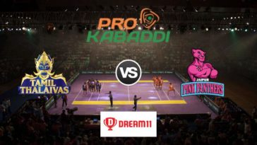 Tamil Thalaivas vs Jaipur Pink Panthers Dream11 Team Match 52 Pro Kabaddi 2019
