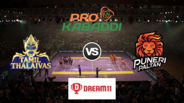 Tamil Thalaivas vs Puneri Paltan Dream11 Team Match 48 Pro Kabaddi 2019
