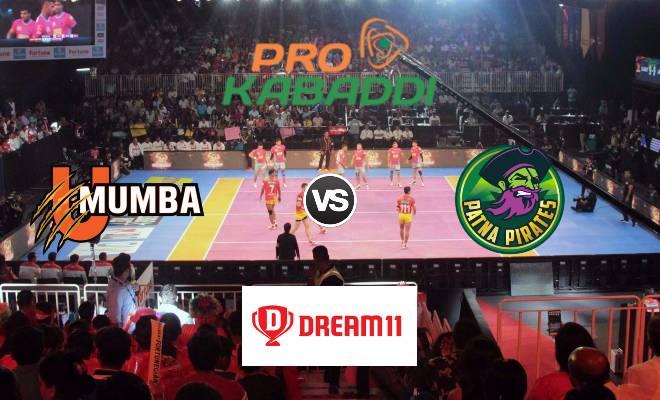 U Mumba vs Patna Pirates Dream11 Team Match 43 Pro Kabaddi 2019