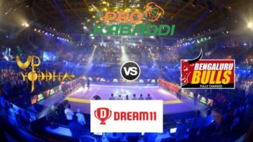 UP Yoddha vs Bengaluru Bulls Dream11 Team Match 39 Pro Kabaddi 2019