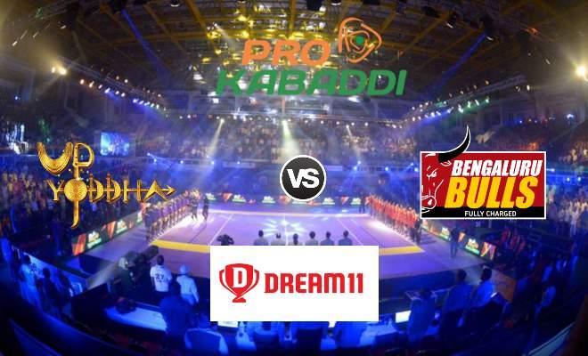 UP Yoddha vs Bengaluru Bulls Dream11 Team Match 39 Pro Kabaddi 2019