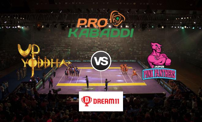 UP Yoddha vs Jaipur Pink Panthers Dream11 Team Match 50 Pro Kabaddi 2019