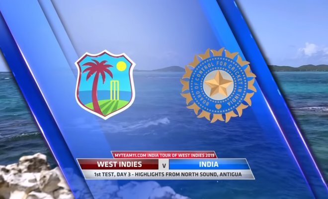 VIDEO Highlights WI vs IND 1st Test Day 3 India Tour of West Indies 2019