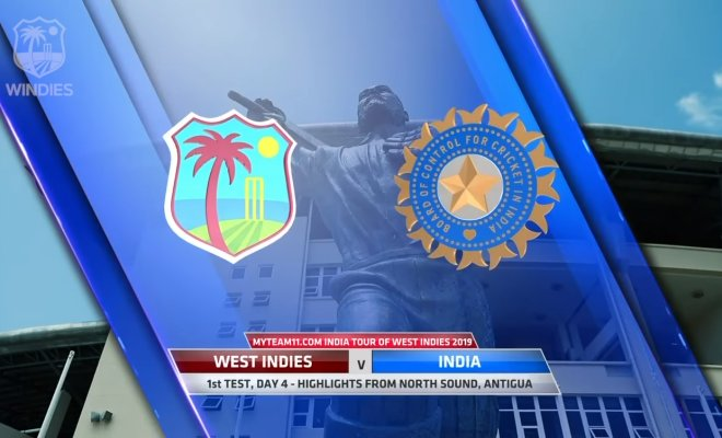 VIDEO Highlights WI vs IND 1st Test Day 4 India Tour of West Indies 2019