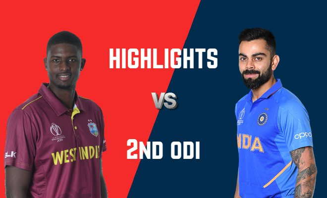 VIDEO Highlights West Indies vs India 2nd ODI India Tour of West Indies 2019