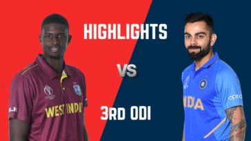 VIDEO Highlights West Indies vs India 3rd ODI India Tour of West Indies 2019