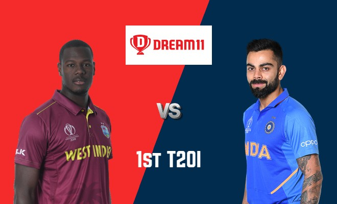 WI vs IND Dream11 Team 1st T20I India Tour of West Indies 2019