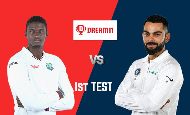 WI vs IND Dream11 Team 1st Test India Tour of West Indies 2019