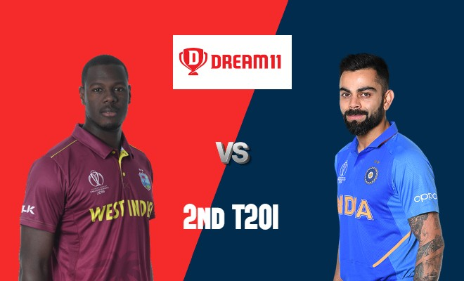 WI vs IND Dream11 Team 2nd T20I India Tour of West Indies 2019