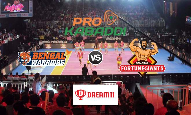 Bengal Warriors vs Gujarat Fortunegiants Dream11 Team Prediction Match 78 Pro Kabaddi 2019