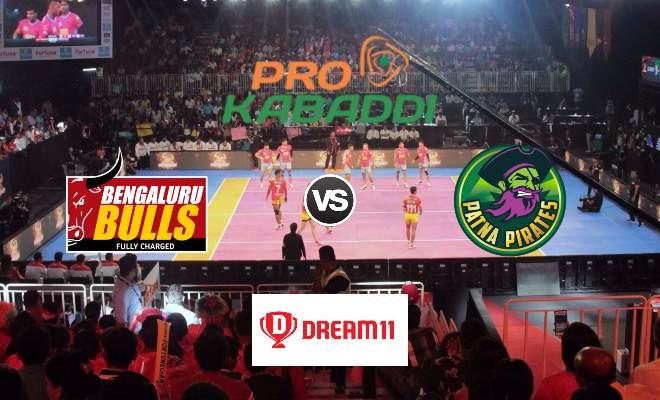 Bengaluru Bulls vs Patna Pirates Dream11 Team Prediction Match 74 Pro Kabaddi 2019