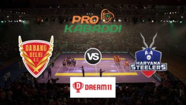 Dabang Delhi vs Haryana Steelers Dream11 Team Prediction Match 79 Pro Kabaddi 2019