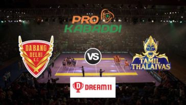 Dabang Delhi vs Tamil Thalaivas Dream11 Team Prediction Match 80 Pro Kabaddi 2019