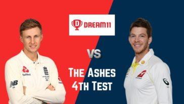 ENG vs AUS Dream11 Prediction 4th Test The Ashes 2019